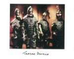 Terrance Duvall (Cyberman, Dr Who) - Genuine Signed Autograph 7355